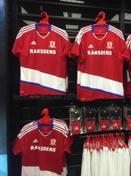 Boro Home Shirt 16-17