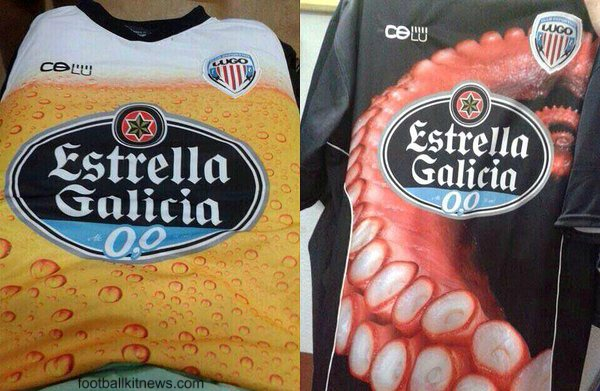 CD Lugo Beer Octopus
