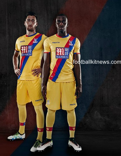 CPFC Away Kit 16 17