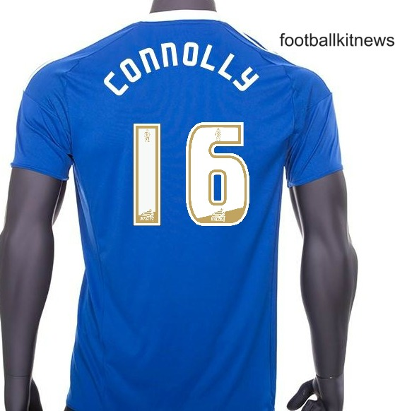 Cardiff Home Shirt 16 17 Back