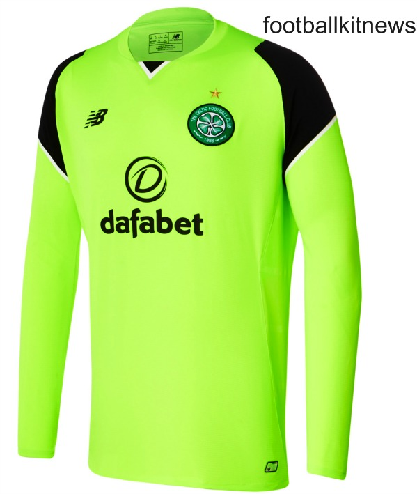 Celtic Goalkeeper Shirt 2016 17