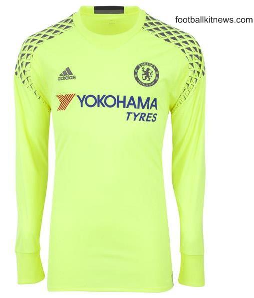 Chelsea Goalkeeper Jersey 2016 2017