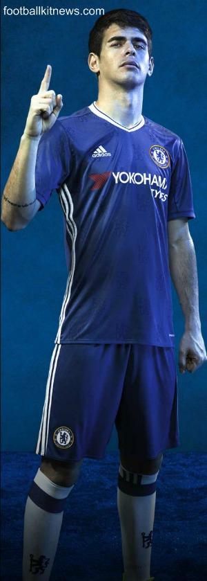 Chelsea Home Shirt 2016 17