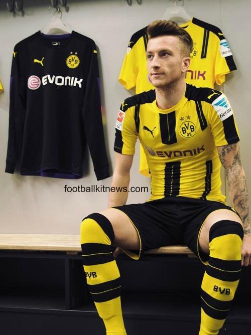 Dortmund Home Jersey 2016 2017