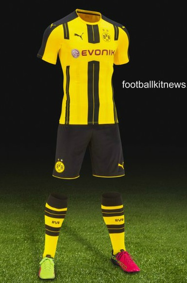 Dortmund Home Strip 2016 2017
