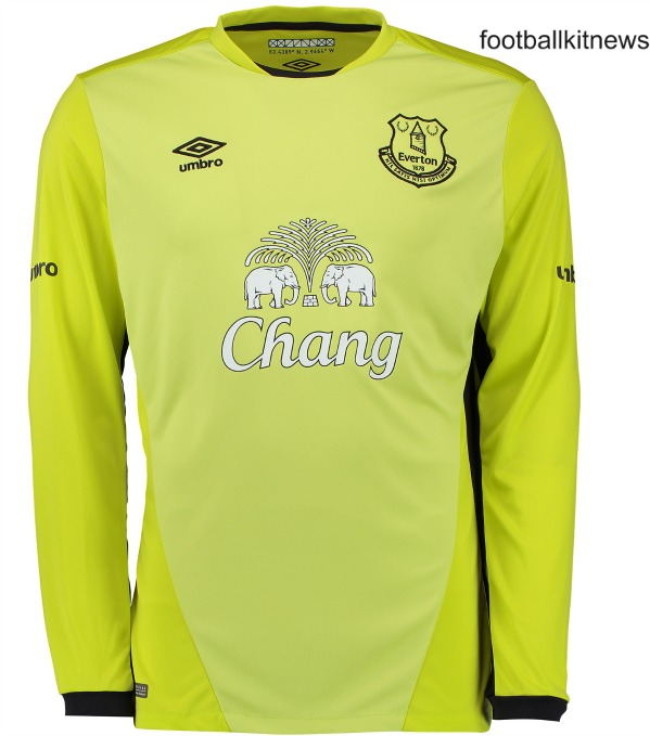 Everton Goalkeeper Kit 2016 17