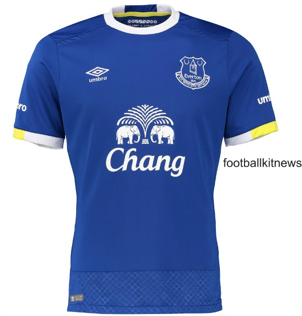 best service 01633 c16a8 New Everton Home Kit 16-17 | EFC Umbro Jersey 2016-2017 ...