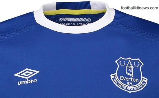 New Everton Home Kit 16-17 | EFC Umbro Jersey 2016-2017