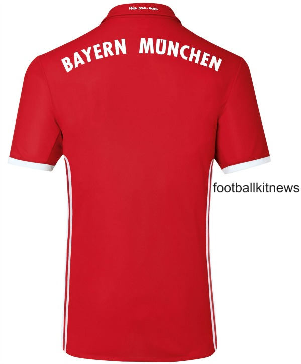 FC Bayern Shirt Back