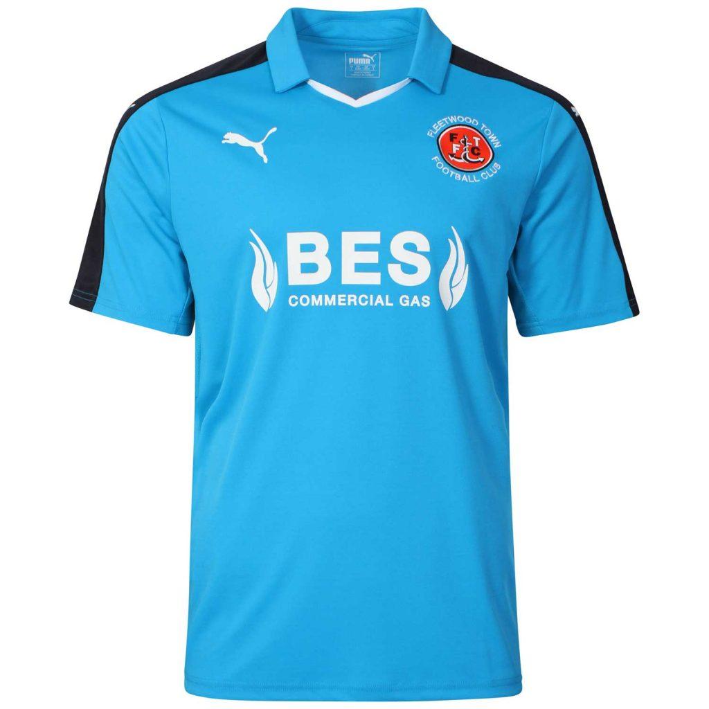 Fleetwood Town Away Shirt 2016 17
