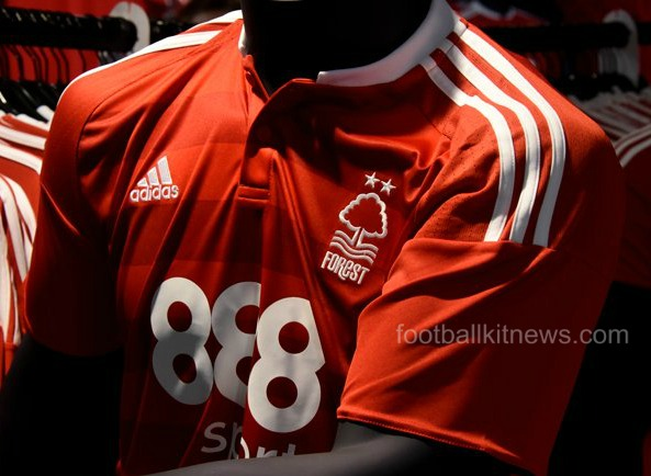 Forest Home Shirt 16 17 Closeup