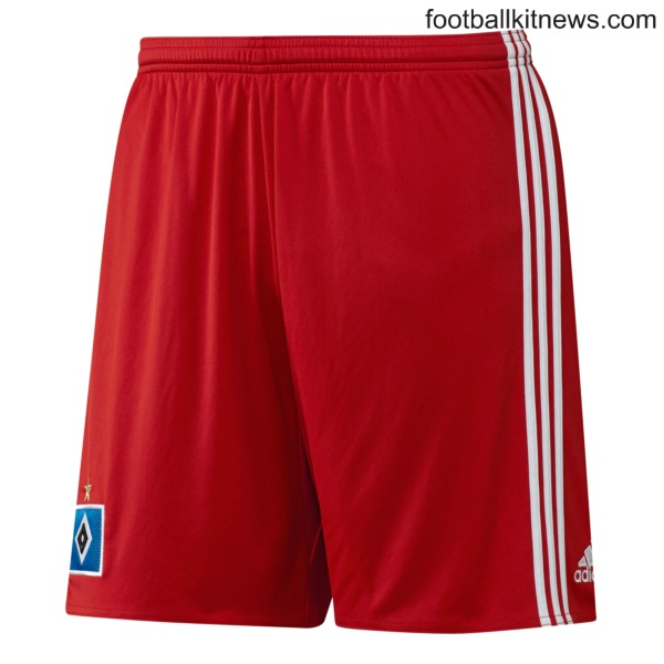 Hamburg Home Shorts 2016 17
