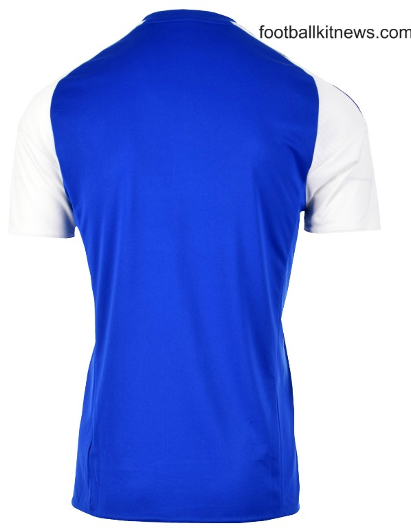 Ipswich Home Shirt 2016 2017 Back