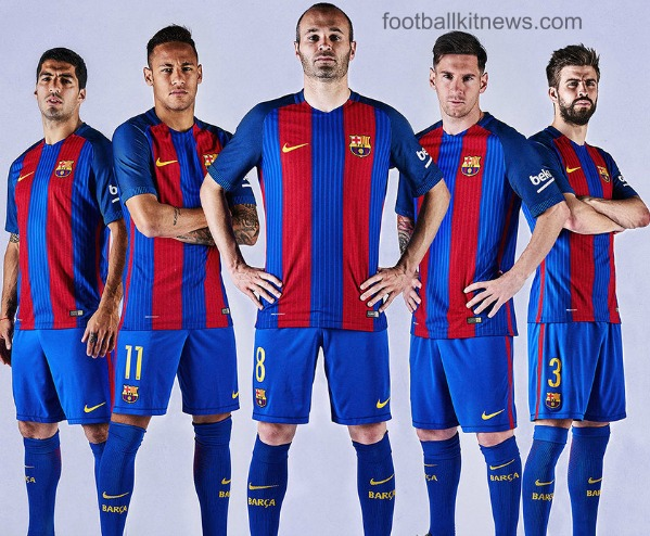 Kits Dream League Soccer: Kit Barcelona 2016/2017 Dls 16