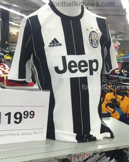 Juventus Leaked Shirt 2016 17