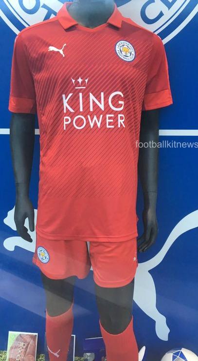 LCFC Away Kit 2016 17