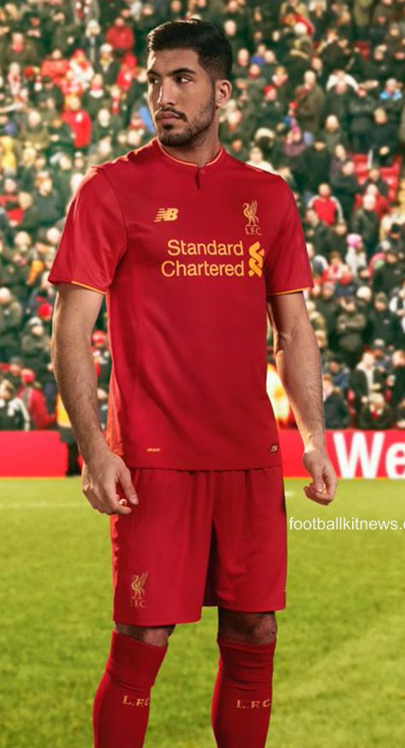 LFC Home Strip 16 17
