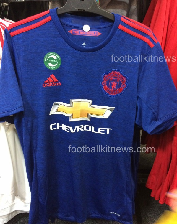 Leaked Man Utd Blue Jersey 2016 2017