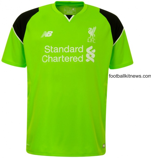 Liverpool Home Goalkeeper Kit 2016