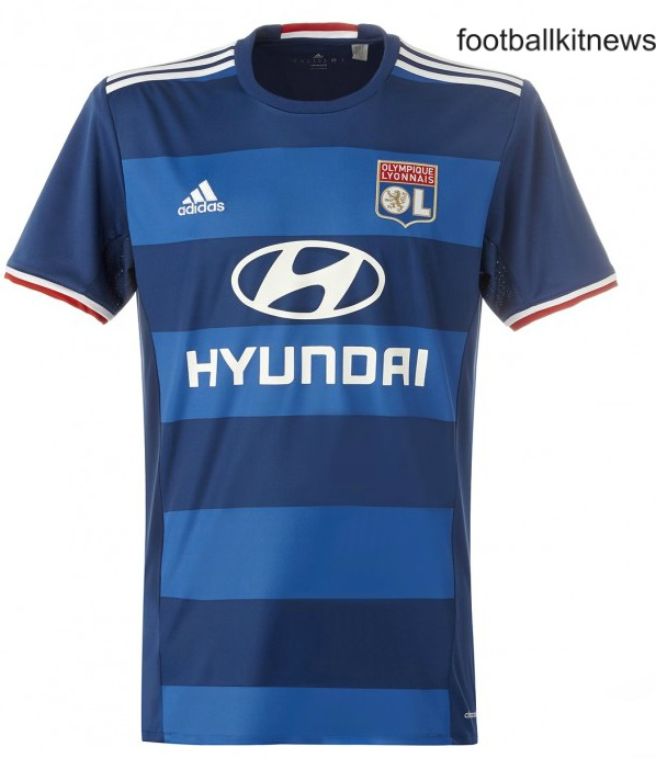 New Lyon Jerseys 2016-17 | OL Adidas Home & Away Kits 16-17
