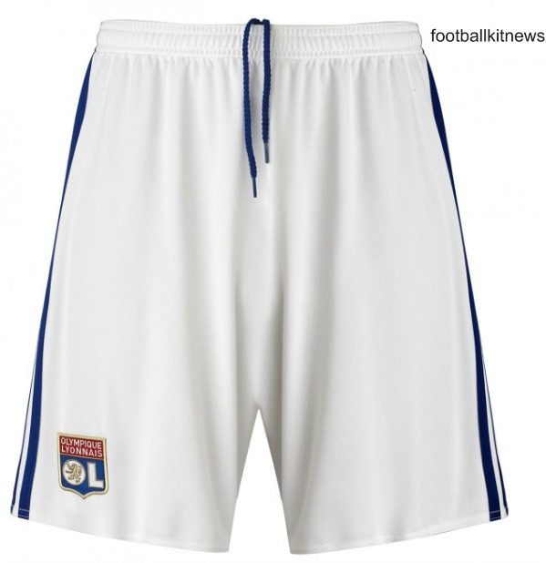 Lyon Home Shorts 2016 17