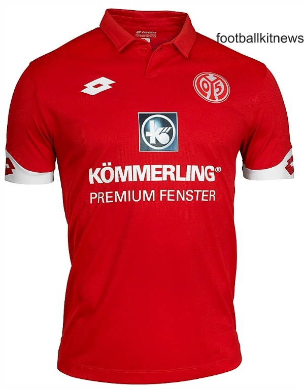 New Mainz Kit 2016-17 | FSV Mainz 05 Lotto Home Jersey 2016-2017