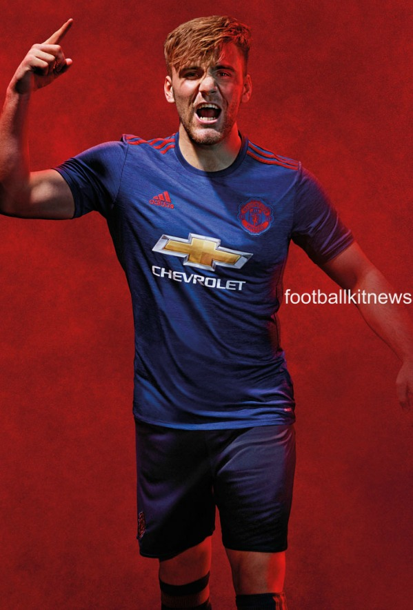 new manchester united away kit 2016 17 blue man utd alternate jersey 16 17 football kit news new manchester united away kit 2016 17