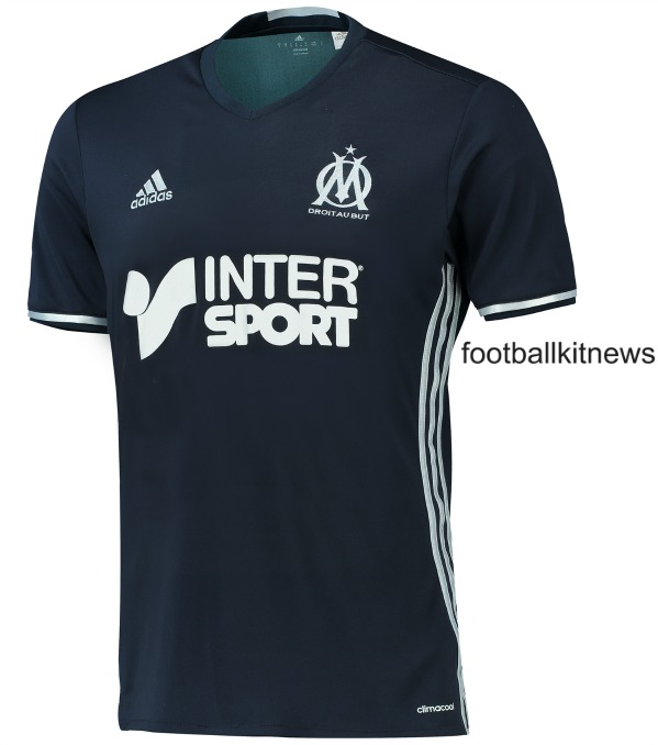 new style d81e5 3d0fc New Olympique Marseille Kits 2016-17 | Adidas OM Home ...