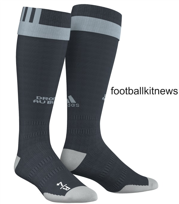 Marseille Away Socks 16 17