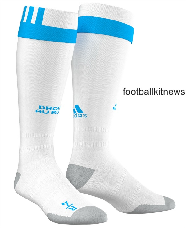 Marseille Home Socks 2016 2017