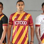 New Bradford City Kits 2016/17- Avec BCAFC Home, Away & Third Shirts 16-17