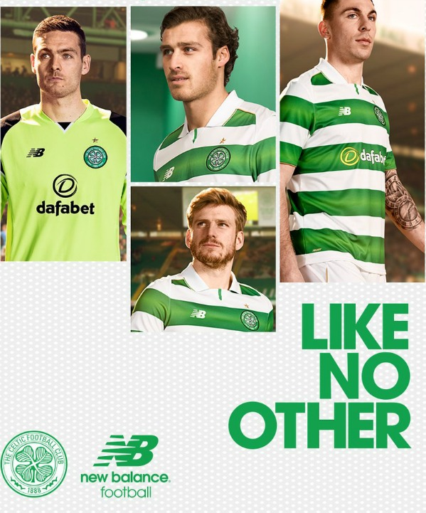 New Celtic Strip 16 17