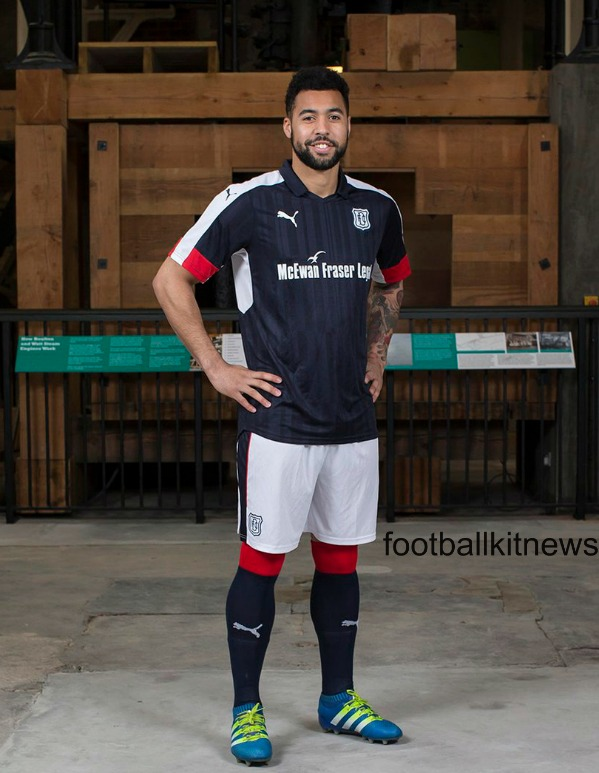 New Dundee FC Strip 2016 17