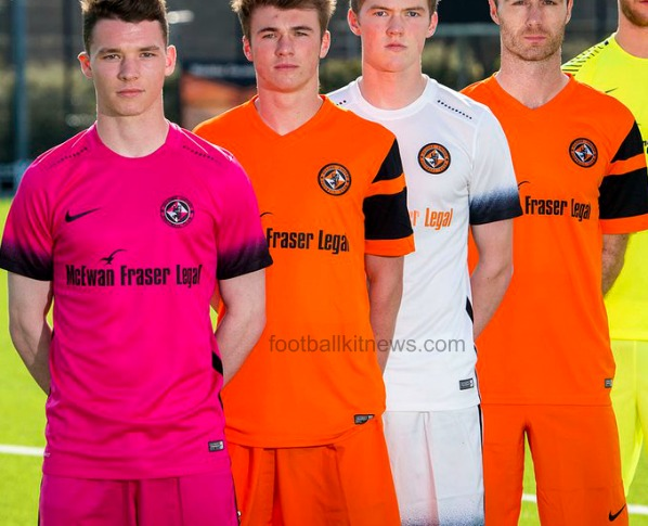 New Dundee United Strip 2016 17