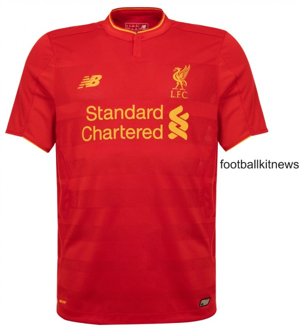 New Liverpool Home Kit 2016 17