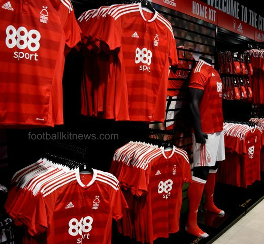 New Nottingham Forest Shirt 2016 17