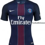 New PSG Kit 2016/17- Paris Saint-Germain Nike Home Jersey 16-17