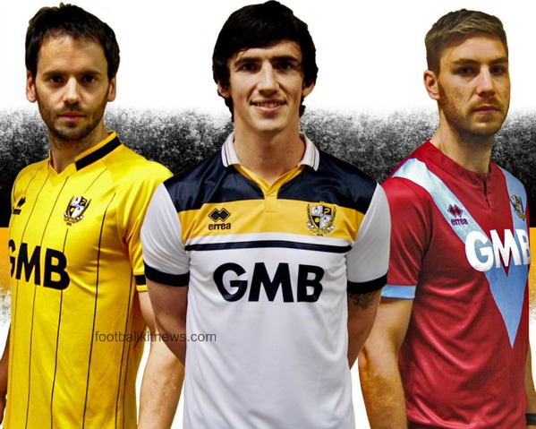 New Port Vale Kit 2016 17