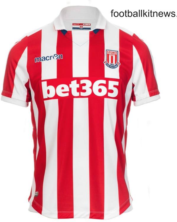 New Stoke Macron Kit 2016 17