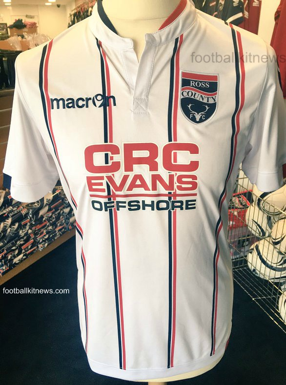 New Ross County Macron Strips 2016-17 | RCFC Home & Away Kits 16-17 SPL