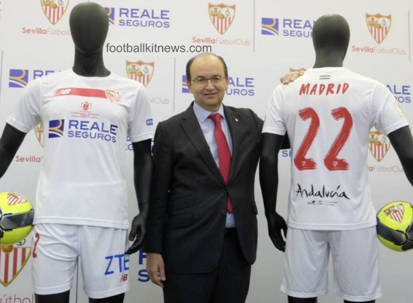 Sevilla Copa del Rey 2016 Final Jersey