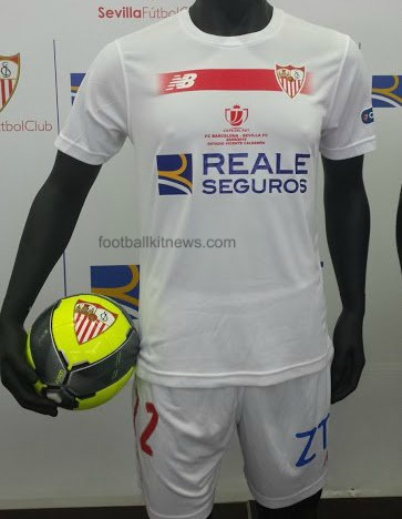 New Balance Sevilla Copa del Rey 2016 Final Shirt vs Barcelona