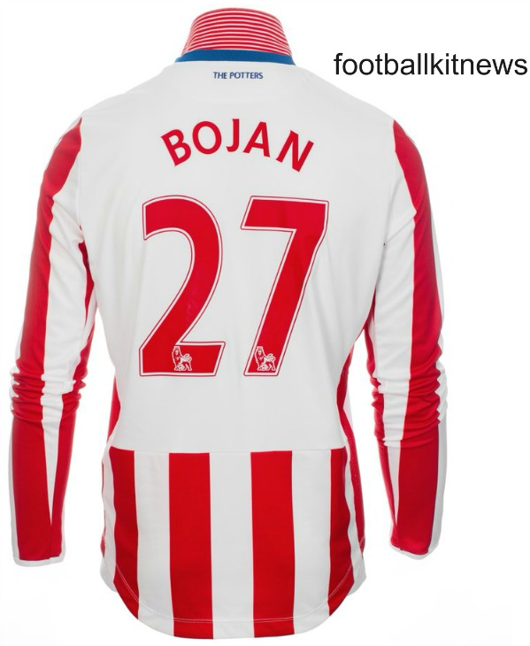 Stoke City Home Kit 2016 17 Back