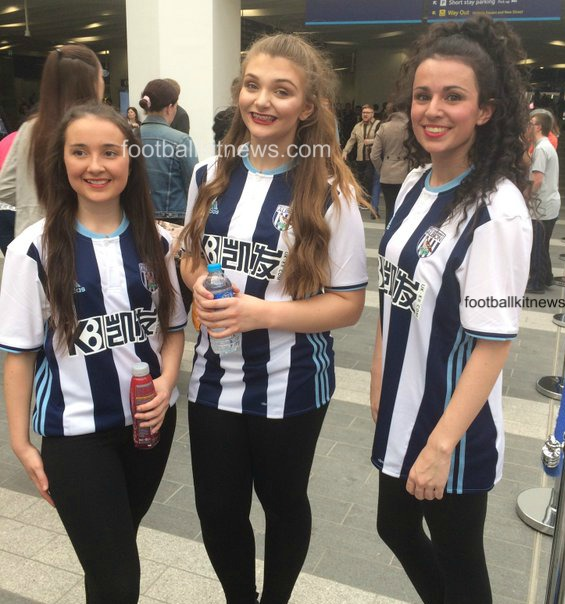 New West Brom Kit 2016-17 | WBA Adidas Home Shirt 2016-2017