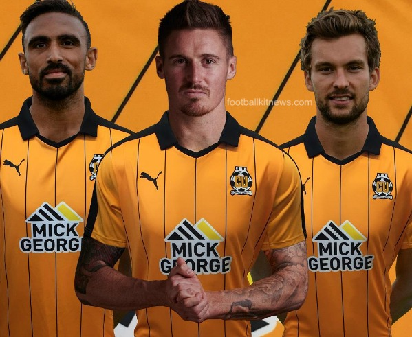 Cambridge United Kit 2016 17