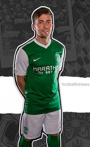 Hibs Home Strip 16 17