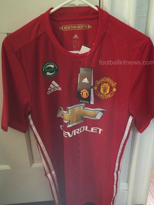Leaked Man Utd Kit 16 17