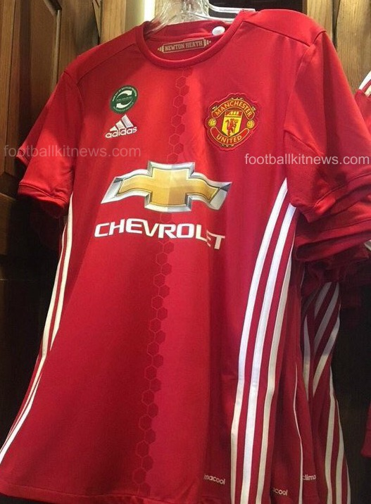 Leaked Manchester United Home Kit 2016-17  b2f9c2340