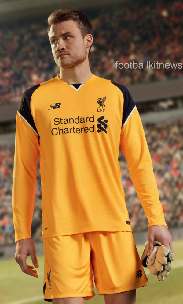 Liverpool Away Goalkeeper Shirt 2016 17