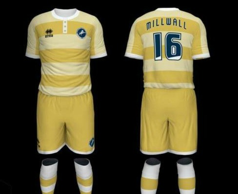 Millwall Away Kit 2016 17